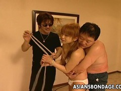 Hot asian bondage masturbation scene tubes at korean.sgirls.net