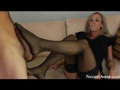 Classy mom brandi love blows him and strips videos