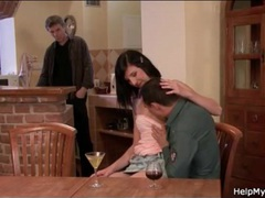 She cheats with permission in cuckold porn movies