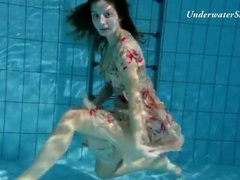 Shaved young pussy looks incredible underwater movies at find-best-tits.com