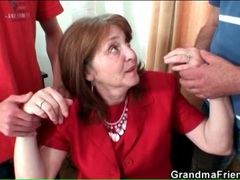 Classy mature business babe sucks two dicks movies at kilopics.net