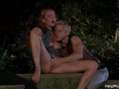 Young man licks married pussy outdoors movies at freekilopics.com