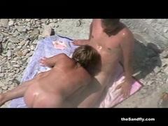 Thesandfly amateur beach frenzy! videos