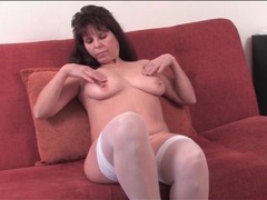 Fat ass old chick in white lingerie strips movies at dailyadult.info