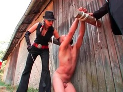 Naked man humiliated outdoors by femdom mistress movies at sgirls.net