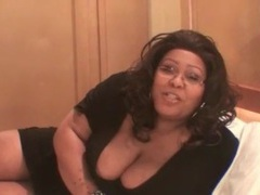 Fat black chick in short dress sucks cock videos