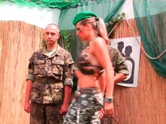 Military men trained by an abusive chick movies at freekiloporn.com