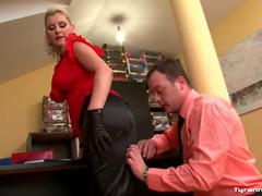 Hot curvy girl in work clothes fucked hardcore videos