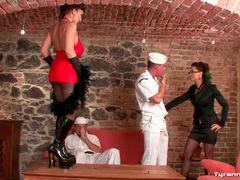 Lucky sailors lick sexy ladies all over movies at kilotop.com