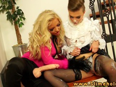 Jenna lovely and johane johansson bukake movies at sgirls.net