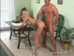 Close up on big boner fucking a hot blonde tubes