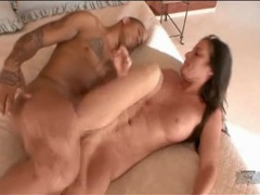 Hammered in her wet white pussy by dark dick movies at kilosex.com