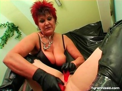 Mature mistress double toy fucks sub girl movies