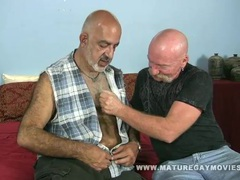Skinny daddy fucks his mature friend movies at sgirls.net