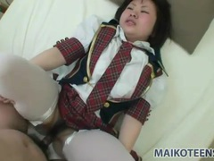 Japanese schoolgirl stuffed with a hot load videos