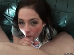 Young lady in handcuffs fucked in missionary videos