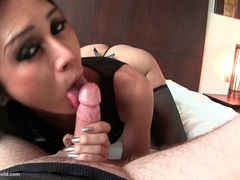 Ladyboy kim black babydoll bareback movies at kilotop.com
