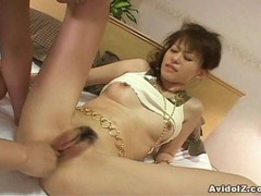 Japanes babe gets fucked uncensored videos