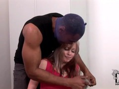 Burglar tapes up and face fucks white girl movies at sgirls.net