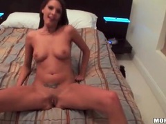 Party girl in slutty dress strips in bedroom videos