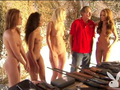 Girls get naked and shoot shotguns lustily movies