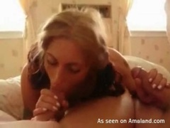 Sexy pigtails girl sucks two dicks in homemade clip movies at find-best-ass.com