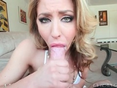 Blue eyed slut gives great blowjob in pov movies at find-best-videos.com