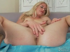 Skinny blonde models lingerie and hairy vagina movies at kilotop.com