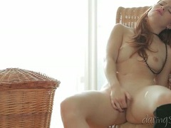 Angelic redhead solo cunt fingering video movies at kilotop.com