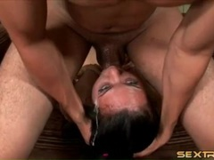 Wicked messy throat fucking of a slut movies at find-best-panties.com