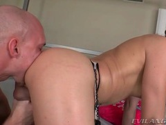Tgirl takes sexy bareback ride on hard cock movies