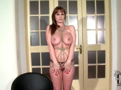 Beautiful big tits girl tied up and modeled movies at find-best-hardcore.com