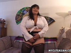 Bbw asian amateur fucked doggy style movies at sgirls.net