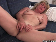 Fuckable grandma spreads her old pussy wide videos