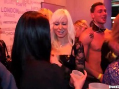 He eats pussy of classy slut at the party movies at sgirls.net