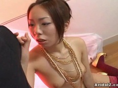 Japanese babe gives a brilliant blow job videos