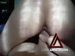 Cocksucker in a tank top fucked in her tight vagina movies at find-best-videos.com