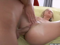 Skinny blonde girl likes a fat dick up the ass movies at sgirls.net