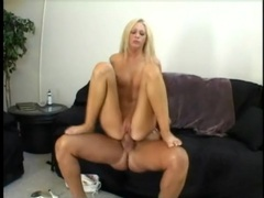 Long lean body on a hot blonde riding a boner videos