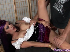 Naughty gypsy foresees sucking and fucking movies at find-best-mature.com