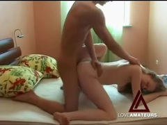 Teen couple tries out sexy positions and they fuck videos