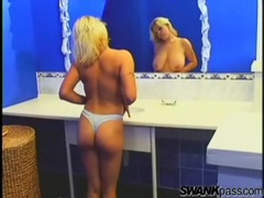 Chubby blonde girl takes a sexy shower movies at find-best-ass.com