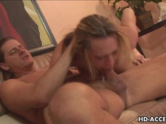 Horny milf gags on huge cock videos