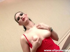 Horny tease girl fucked in her beautiful bald pussy movies at sgirls.net