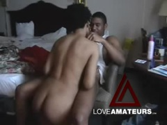 Black guy and his busty girlfriend suck and fuck videos