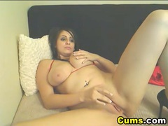 Big titties college girl masturbating videos
