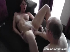 Hot brunette fist fucked in her loose tattooed cunt movies at find-best-pussy.com