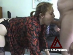 Big booty babe sucks a dick and takes it doggystyle tubes