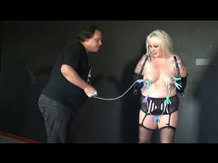 Her body is worn out in a bdsm video movies at sgirls.net