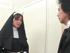 Japanese nun stripped naked and fondled videos
